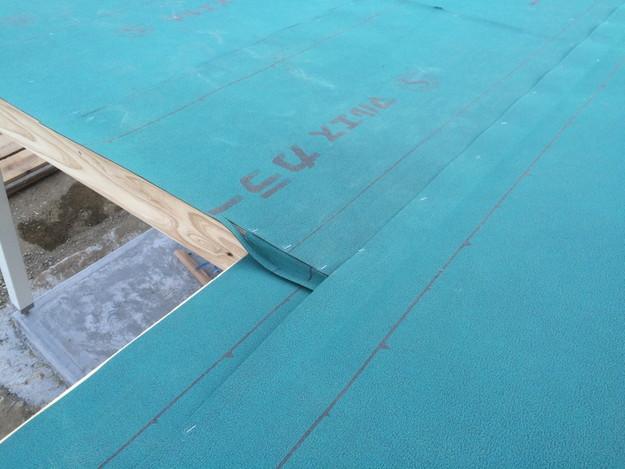 新築カラーベスト屋根工事1430732604587