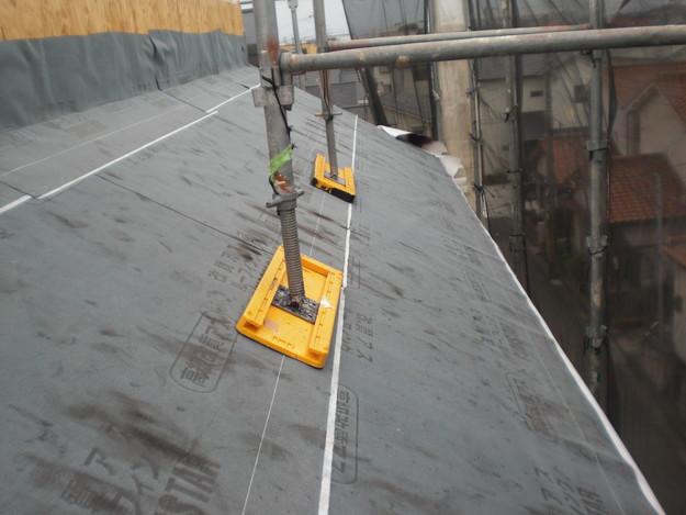 新築屋根工事洋瓦スペイン瓦CIMG1299