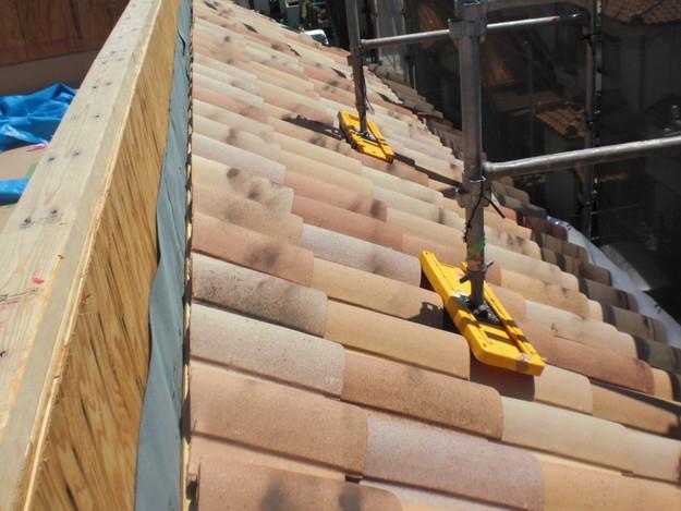 新築屋根工事洋瓦スペイン瓦CIMG1306
