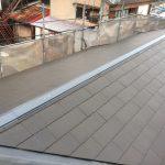 雨漏り対策屋根修理 棟板金交換 換気棟取り付け(明石市)