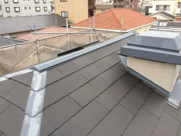 既存屋根板金雨漏り修理前1428406161334