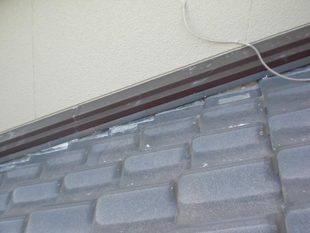 雨漏り対策工事前漆喰箇所CIMG1268