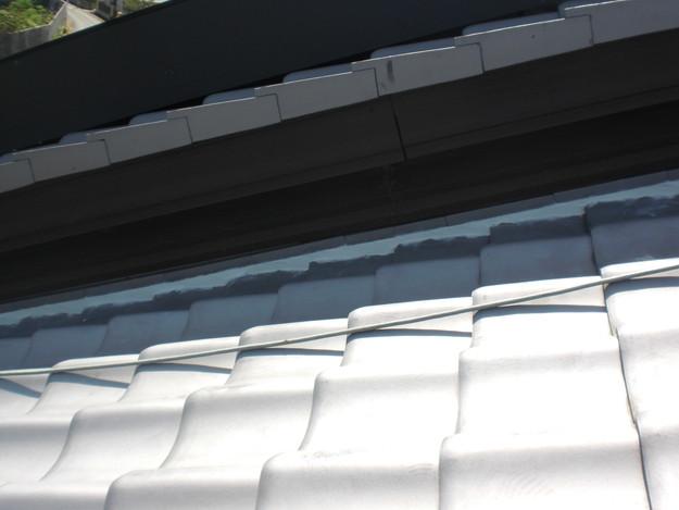 雨漏り対策工事完了漆喰箇所CIMG1280