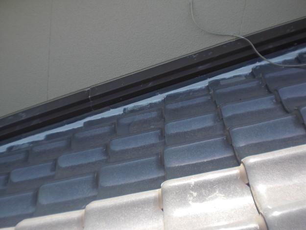 雨漏り対策工事完了漆喰箇所CIMG1285