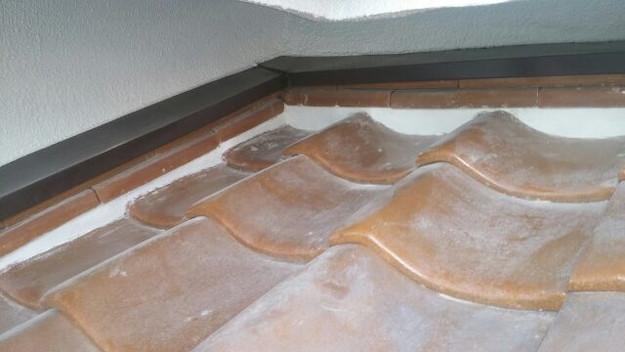 雨漏り対策工事漆喰交換1430653960329