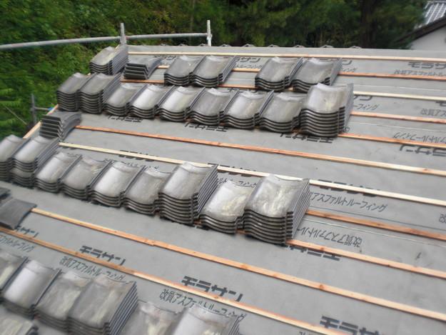 お寺の屋根工事CIMG1455