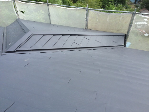 リフォーム後屋根葺き替え工事1434975717032