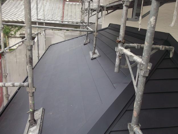 リフォーム後屋根葺き替え工事DSCF1844