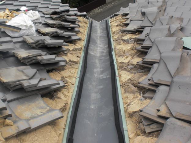 屋根修理中CIMG1471