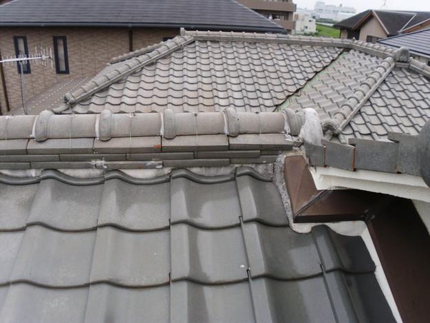屋根修理前写真DSCI0023