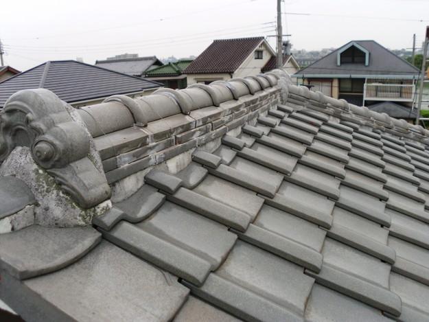 屋根修理前写真DSCI0024