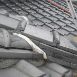 雨漏り対策修理 漆喰工事と壁際コーキング防水工事