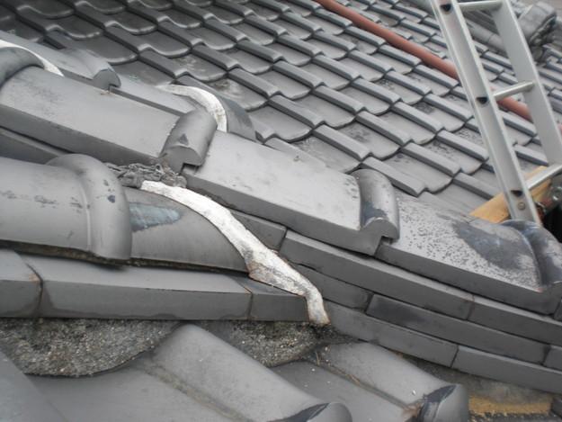 屋根修理前現況写真CIMG1343