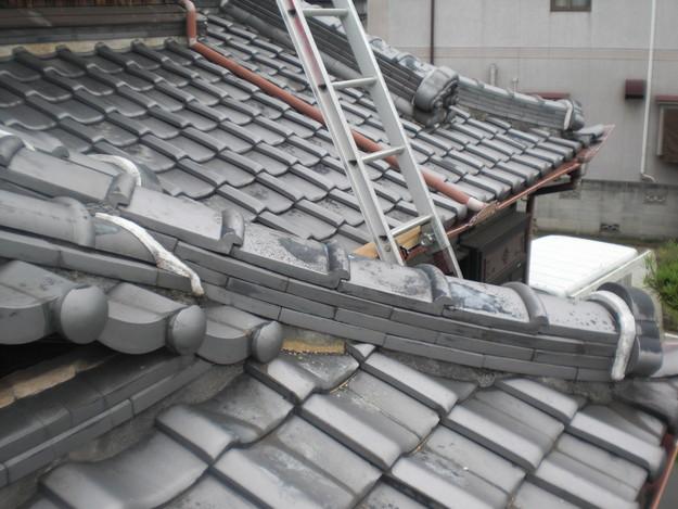 屋根修理前現況写真CIMG1344
