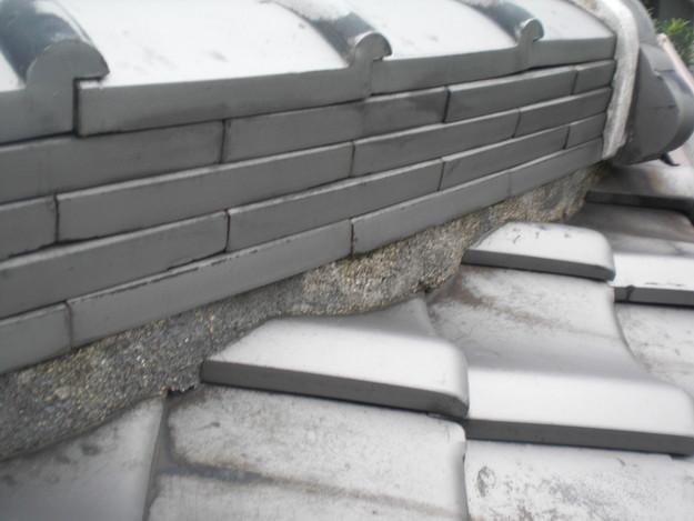屋根修理前現況写真CIMG1346