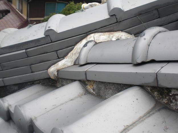 屋根修理前現況写真CIMG1356