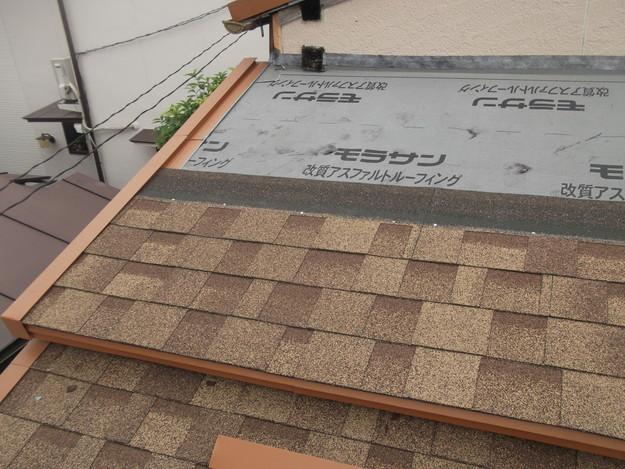 屋根葺き替えリフォーム中DSCF1887