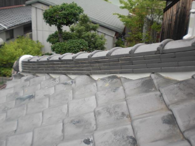 棟瓦漆喰部雨漏り修理後CIMG1367