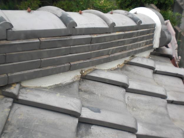 棟瓦漆喰部雨漏り修理後CIMG1368