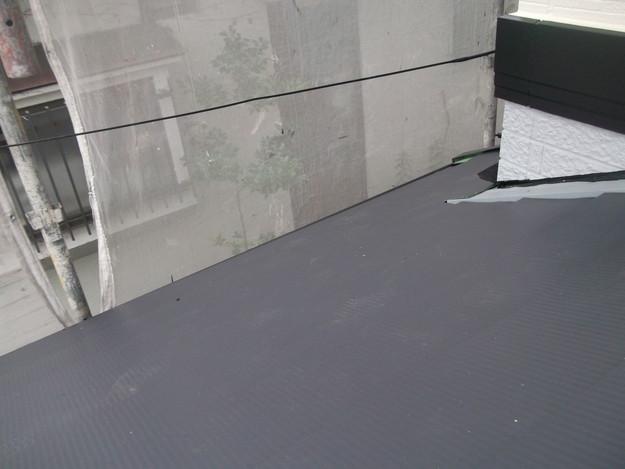 カバー工法屋根葺き替えリフォーム中DSCF1828