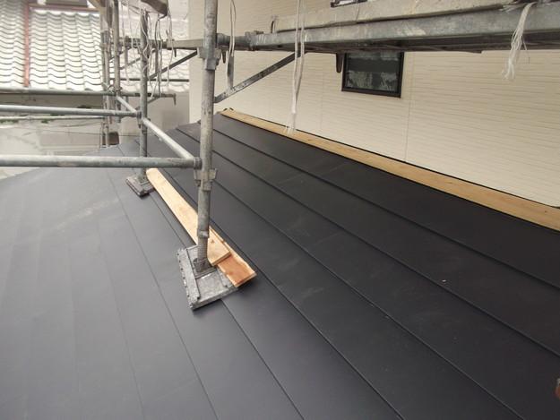 カバー工法屋根葺き替えリフォーム中DSCF1830