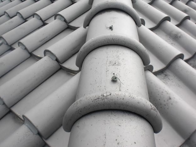 ラバー工法瓦のずれ・めくれの雨漏り対策前CIMG1424