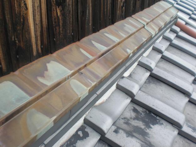 壁際漆喰部雨漏り修理CIMG1369