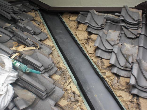 屋根修理中CIMG1477