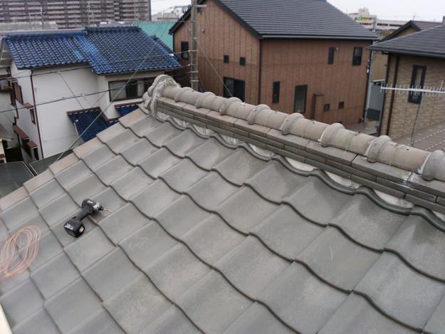 屋根修理前写真DSCI0022
