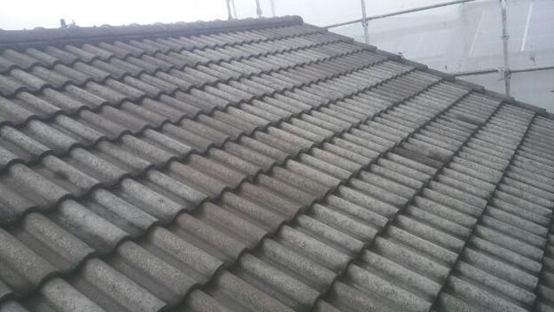 屋根リフォーム工事施工前写真2