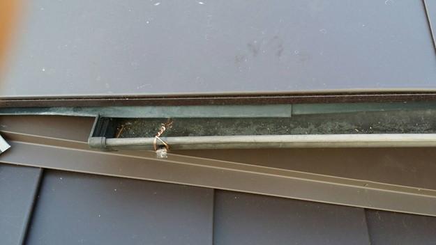 カバー工法による屋根リフォーム工事完了写真1439090698536