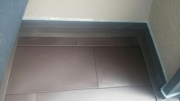 カバー工法による屋根リフォーム工事完了写真1439092056271