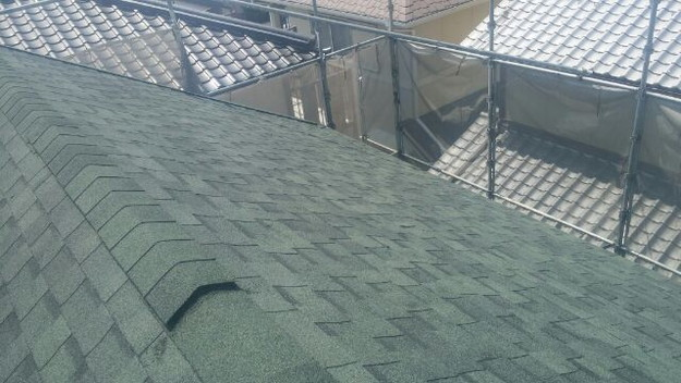 屋根リフォーム工事完了写真1438564370122