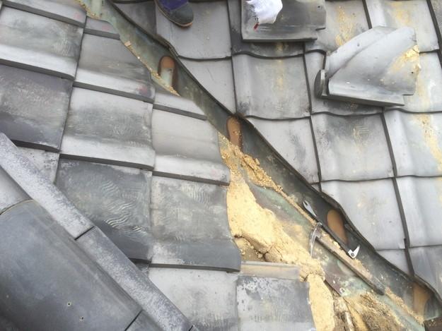 屋根板金工事中写真1435402599575