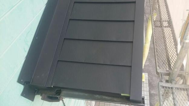 カバー工法による屋根のリフォーム工事完了写真1438572176889