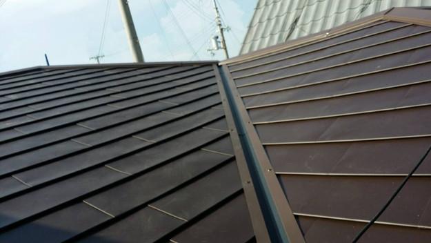 カバー工法による屋根リフォーム工事完了写真1439090687722