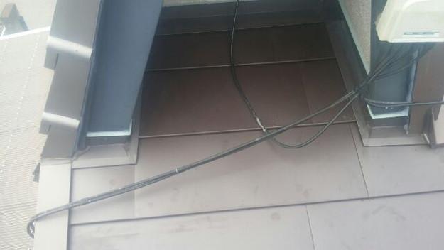 カバー工法による屋根リフォーム工事完了写真1439092151612