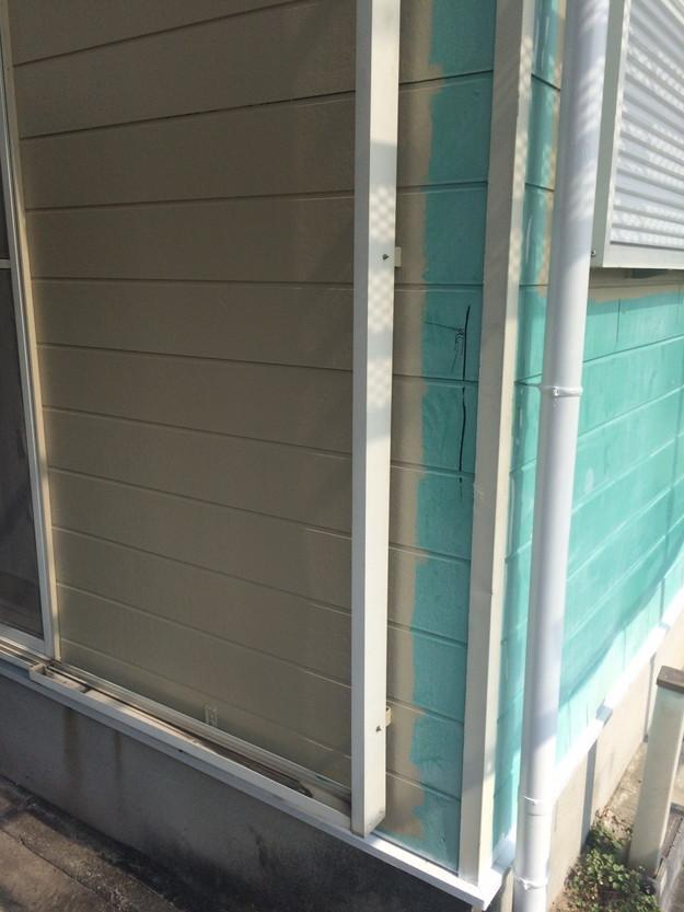 外壁サイディング工事中写真1439162300096