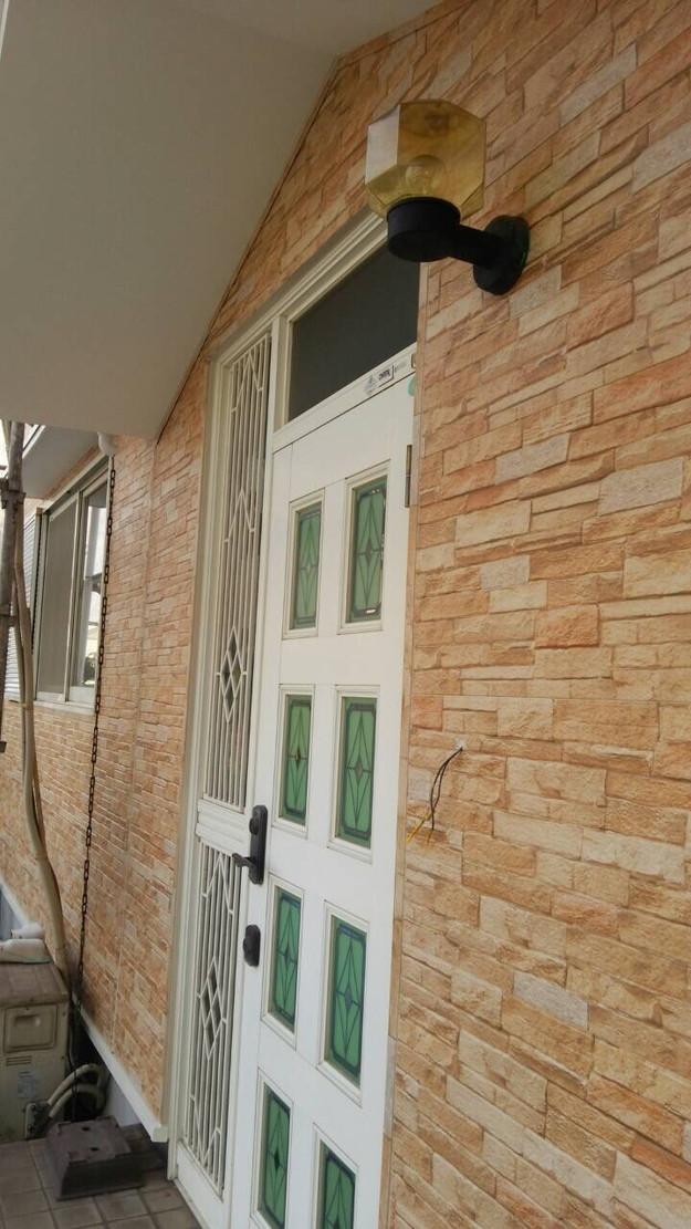 外壁サイディング工事中1439162207025