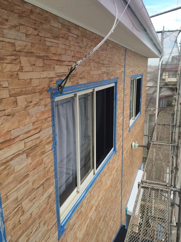外壁サイディング工事中1439162256049