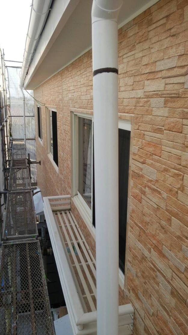 外壁サイディング工事中1439162297711