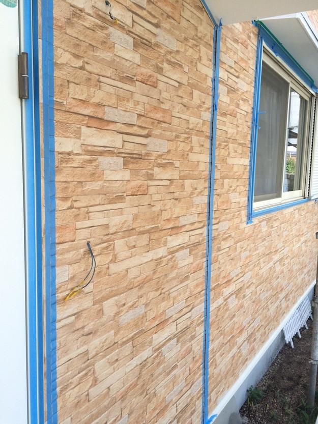 外壁サイディング工事中1439162340348