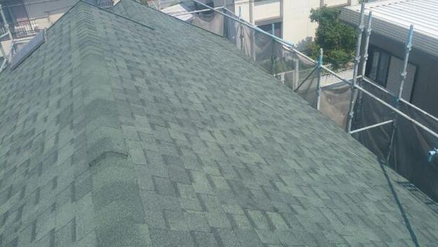 屋根リフォーム工事完了写真1438564318087