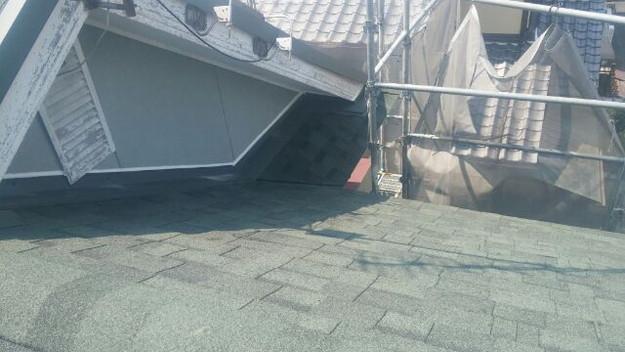 屋根リフォーム工事完了写真1438564397889