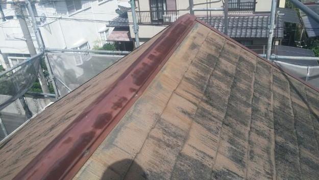屋根リフォーム工事施工前1438564846740