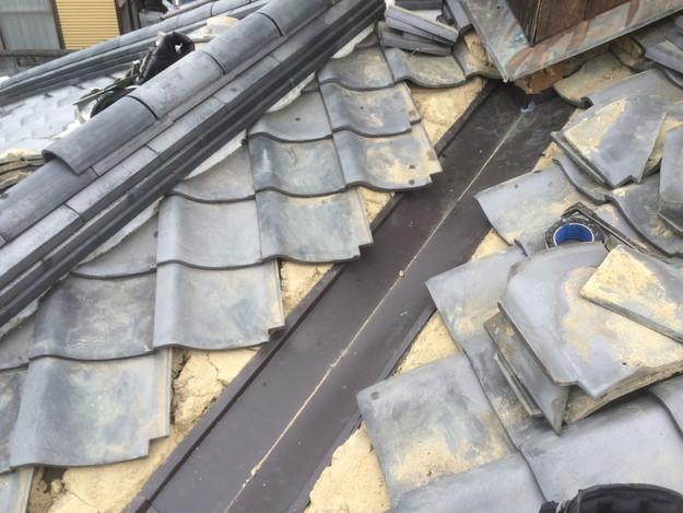 屋根板金工事中写真1435402584499