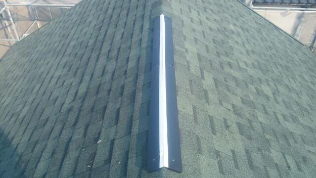 屋根裏換気システム設置中1438564491481