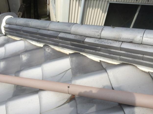 雨漏り対策工事施工前1434975098063