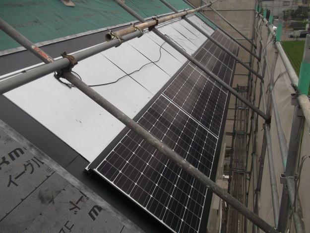 太陽光ソーラーパネル設置工事DSCF1951