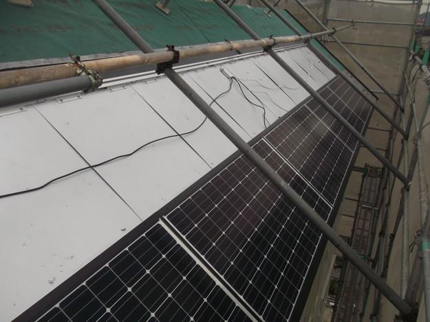 太陽光ソーラーパネル設置工事DSCF1952